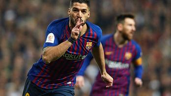 Hiába támadott végig a Real, a Barca jutott a kupadöntőbe