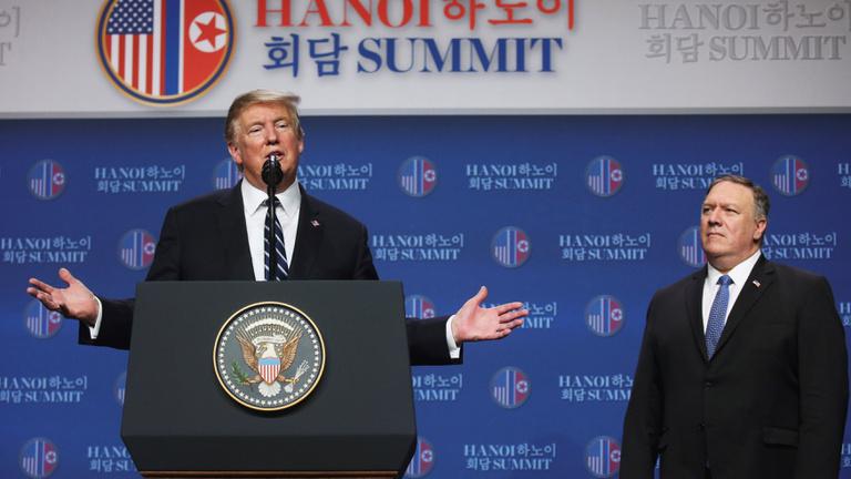 Megállapodás nélkül, idő előtt ért véget Trump és Kim Dzsongun csúcstalálkozója