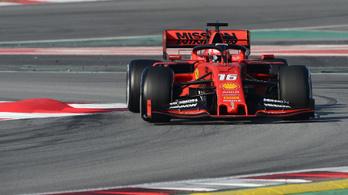 Nagyon elszállt a Red Bull, tesztcsúccsal 1. a Ferrari