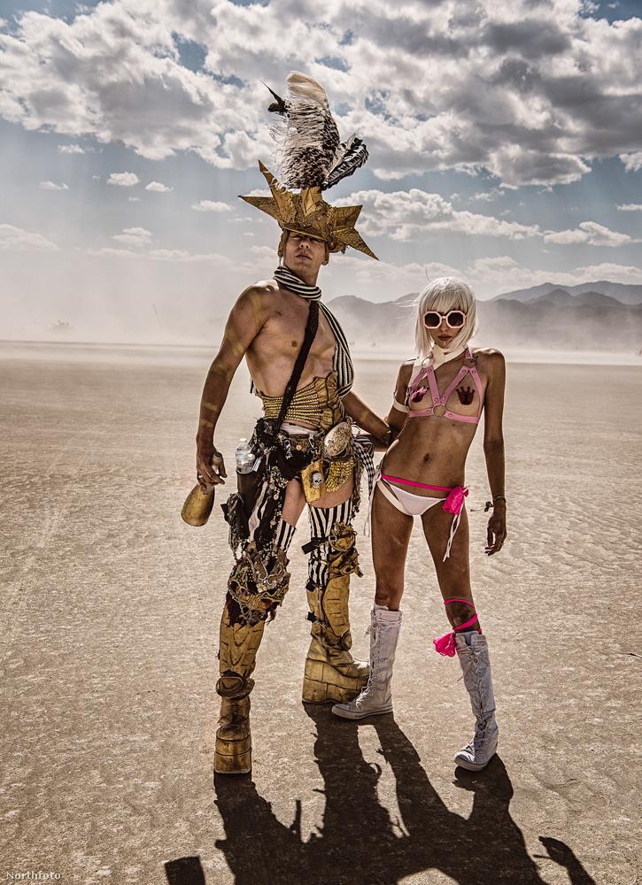 A Burning Man az egyik legextravagánsabb, saját kultusszal rendelkező fesztivál a Világon