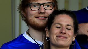 Ed Sheeran suttyomban megnősült?