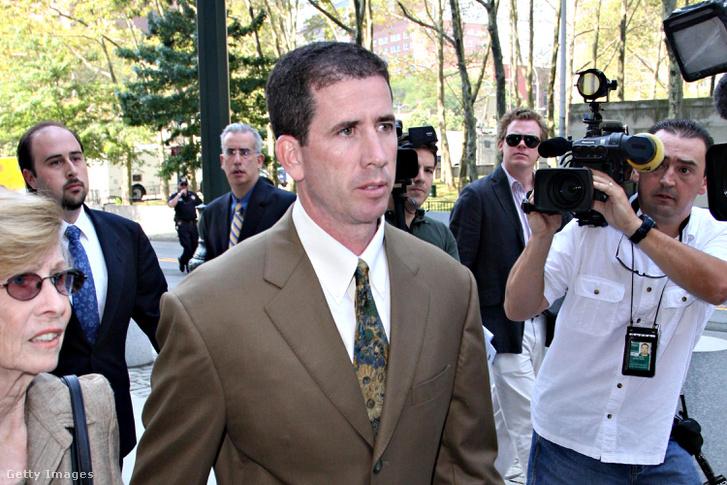 Donaghy 2008-ban a bíróságra érkezve