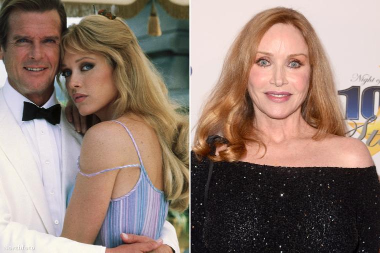 A Halálvágta női főszerepét, egyébként Tanya Roberts játszotta el, aki a Bond-film előtt a Charlie angyalai utolsó évadával lett híres