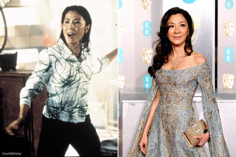 A holnap markából ismert Michelle Yeoh már ismert szereplője volt a hongkongi filmiparnak, mikor becastingolták Brosnan mellé Wai Lin szerepébe