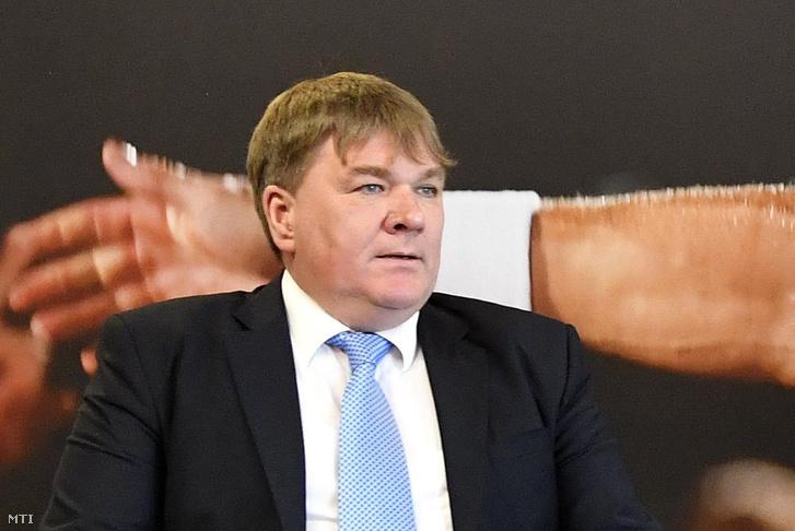 Szűcs Lajos, a Magyar Tenisz Szövetség elnöke