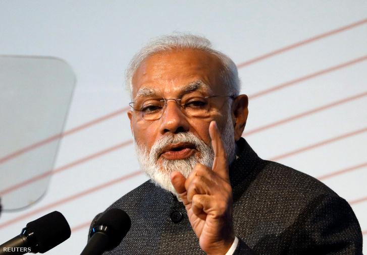 NarendraModi indiai kormányfő