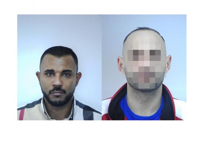 34 éves Horváth Mihály Alfonz (bal oldalt), társát elfogták