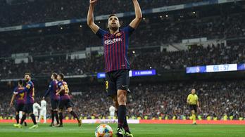 Új szerződést kapott Jordi Alba, 500 millió euró lett a kivásárlási ára