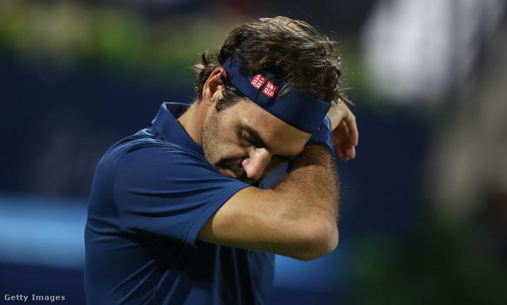 Federer Fucsovics ellen Dubajban 2019. február 28-án