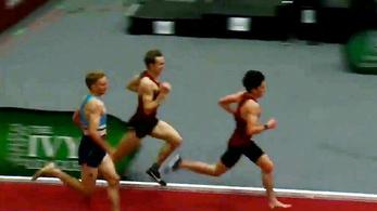 Véresre futva a lábát nyert 3000 métert