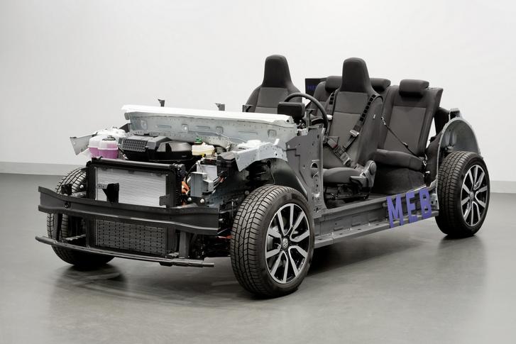 A Volkswagen elektromos platformja. Hiába modern, ha nincs benne aksi