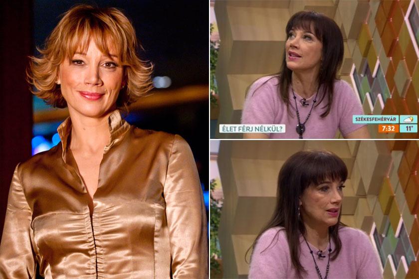 Xantus Barbara 2010-ben, a Casino című tévéfilmsorozat forgatásán és a Reggeliben.