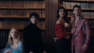 Nahát! Priyanka Choprát és Sophie Turnert is becastingolták a Jonas Brothers új klipjébe