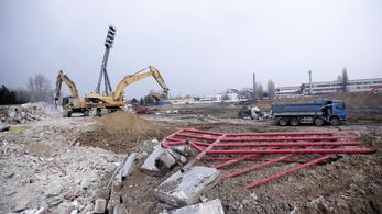 A földdel tették egyenlővé a Bozsik Stadiont