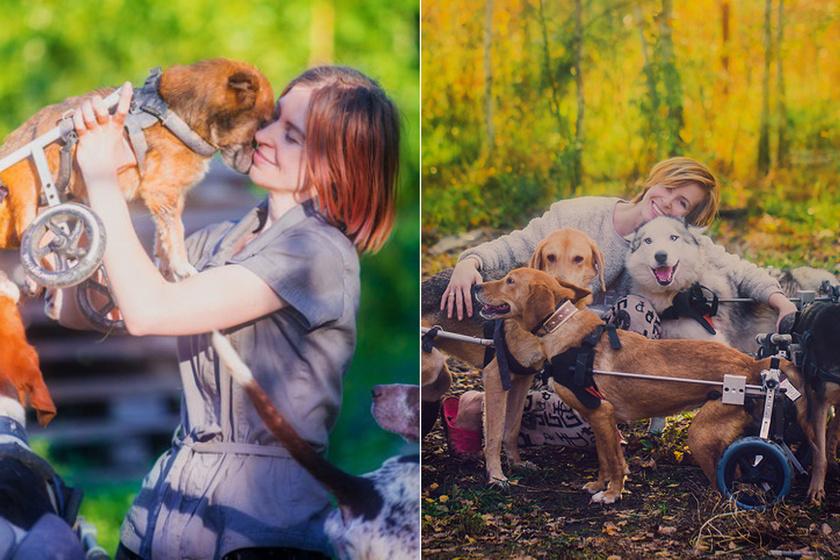 Az élet 100 kutyával - Olyan állatokat fogadtak be, akik másnak nem kellenek