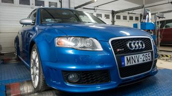Totalcar Erőmérő: Audi RS4 – 2007.