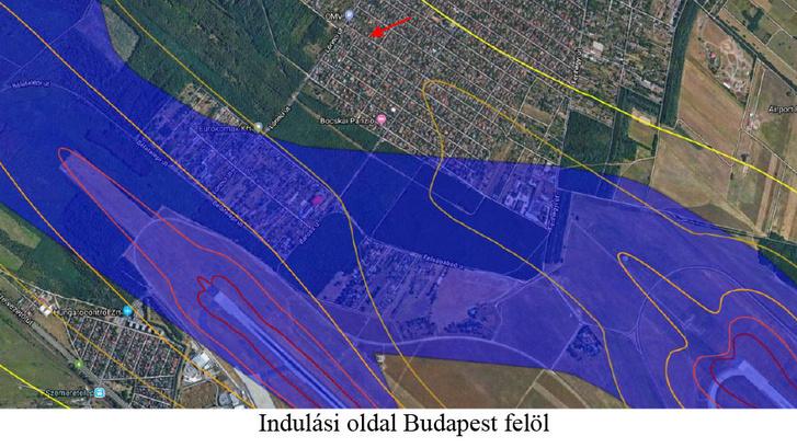 Útvonalak Budapest felett