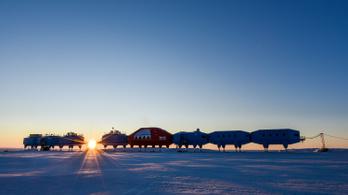 Bezártak egy antarktiszi kutatóbázist, mert félnek, hogy a tengerbe szakad