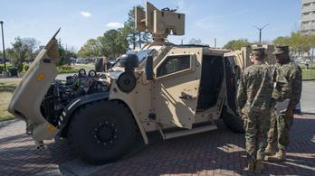 Lebőgött a JLTV, az amerikai hadsereg új csodadzsipje
