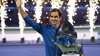 Roger Federer elképesztő történelmi győzelme