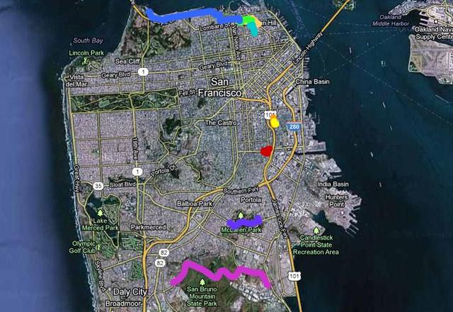10 perc alatt fél San Fransisco-t bejárták
