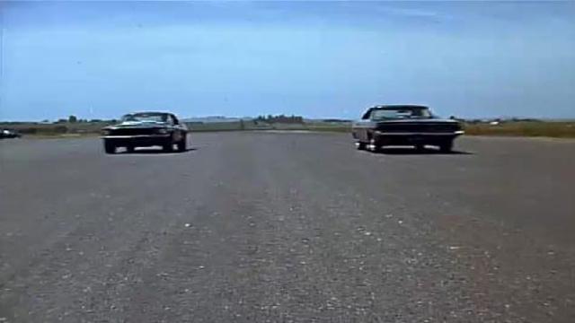 Egy San Fransisco melletti versenypályán gyakorolt Mcqueen és Hickman orrvérzésig