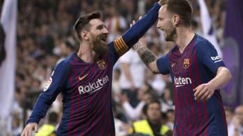 Négy nap alatt másodszor verte Madridban a Barca a Realt