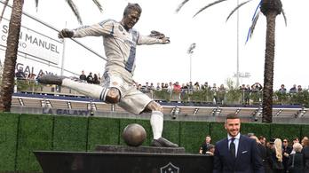 Beckham szobrát győzelemmel ünnepelték Los Angelesben