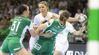 Kézi-BL: nagy hajrával döntetlent harcolt ki a Fradi a Győr ellen