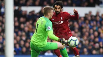 Megint nem lőtt gólt, maradt második a Liverpool