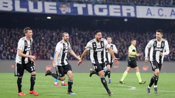 A Napoli sem tudott mit kezdeni a Juventus mágiájával