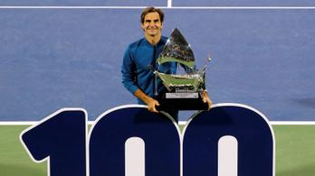 Szőnyegen nyerte az elsőt, 18 év alatt ért el 100-ig Federer