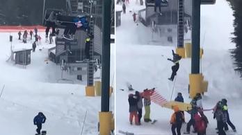 Hősök a sípályán, gyerekek mentették meg egy 8 éves kisfiú életét