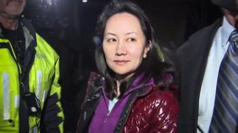 Beperelte a Huawei pénzügyi vezetője a kanadai államot
