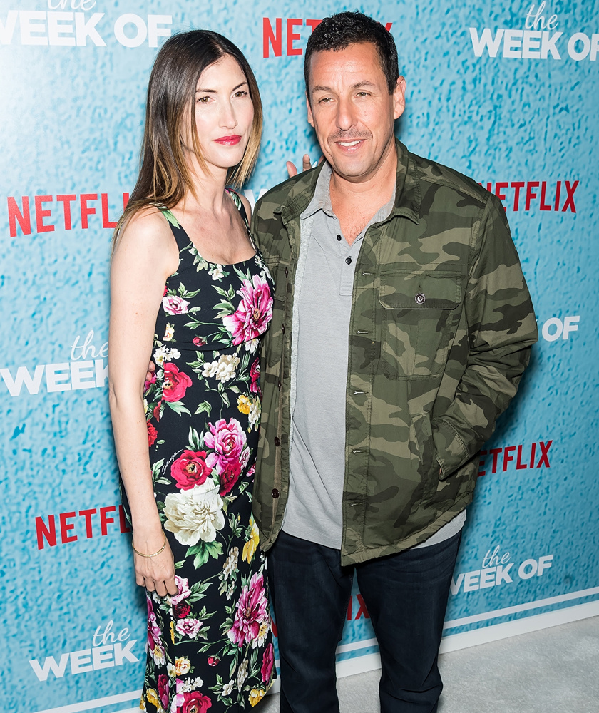 Amióta összejöttek, szinte az összes Adam Sandler-filmben láthattuk Jackie-t egy mellékszerep erejéig - például a Jennifer Aniston főszereplésével készült, Kellékfeleség című filmben is feltűnt.