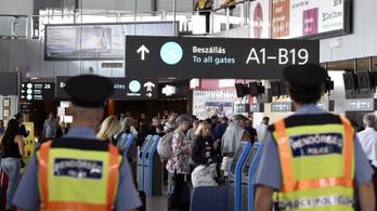 Egy brit utas fejére szakadt az álmennyezet a Liszt Ferenc reptéren