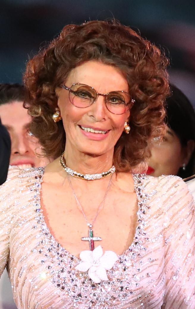 Sophia Loren még mindig elbűvölő - mintha évtizedek óta nem is öregedne!