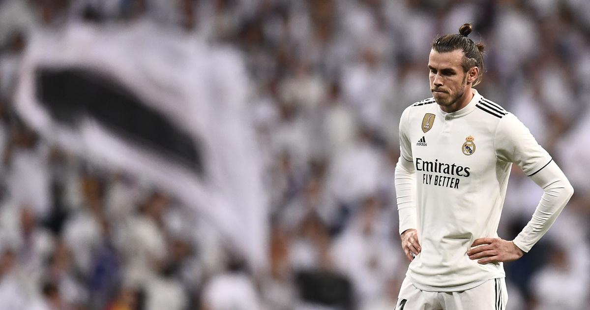 Bale a Clasicón, még a pályán