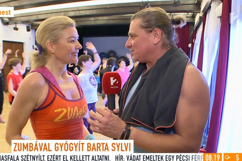 Barta Sylviának, miután újra mozogni szeretett volna, a zumbát ajánlották. Ma már oktatóként is dolgozik.
