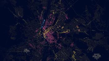 Térképre rakták, hol pislog Budapesten a Big Brother