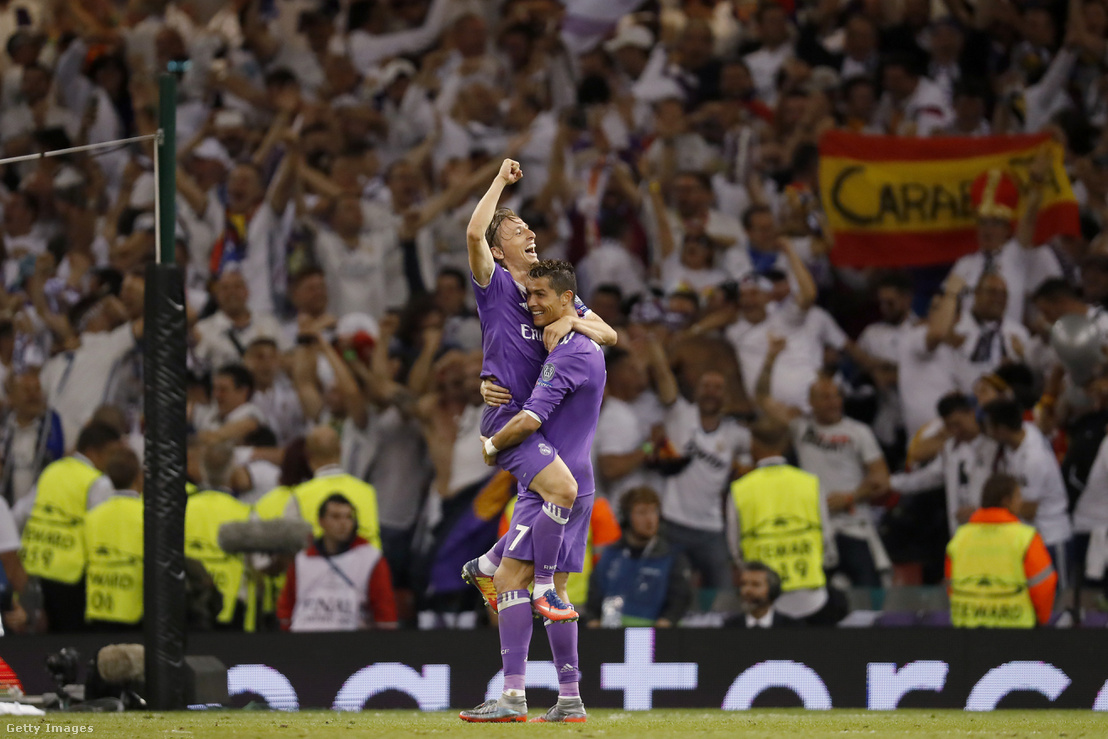 Modric és Ronaldo 2017-ben