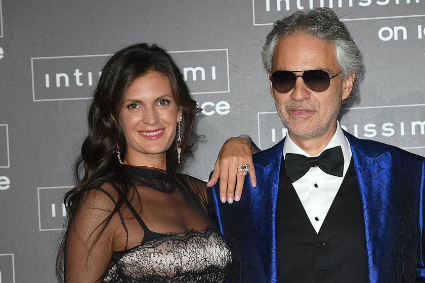 Andrea Bocelli és Veronica Berti napjainkban.