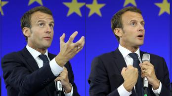 Macron uniós minimálbért és demokráciavédő ügynökséget javasol