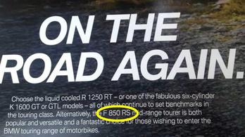 BMW F 850 RS: elírás vagy új modell?