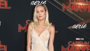Brie Larson uralta a Marvel Kapitány premierjének vörös szőnyegét