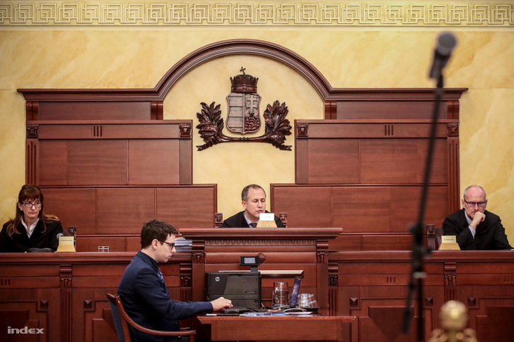 P. László Gergely ügyének másodfokú tárgyalása a Fővárosi Ítélőtáblán 2019. március 5-én