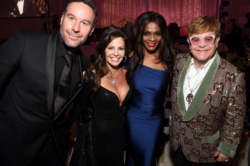 Noszály Sándor Elton John Oscar-partiján is részt vett még februárban.