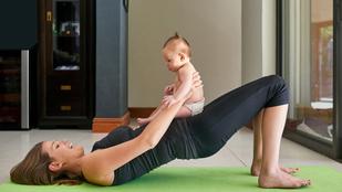 Minden kismamát érint a szétnyílt hasizom - sportoljunk-e szülés után?