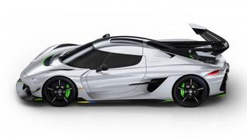 Jesko: ez lehet a világ leggyorsabb sportautója