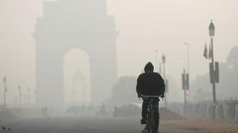 Légszennyezettségben India a világelső